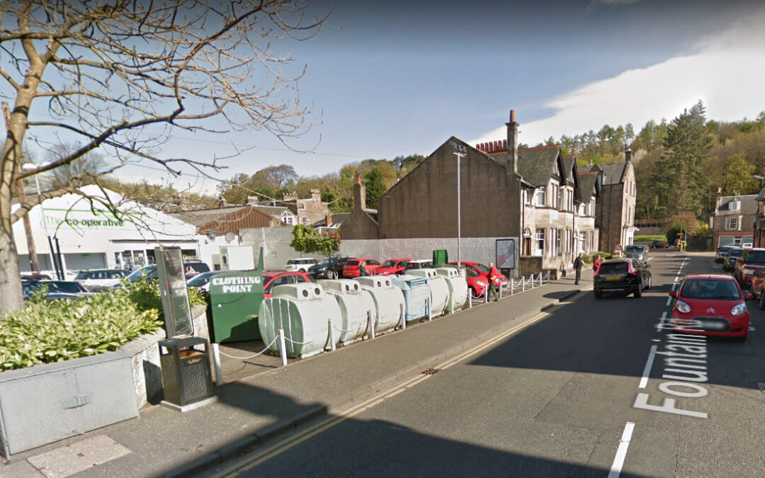 Stirling Council Notice – Fountain Road Recycling Bins Removal