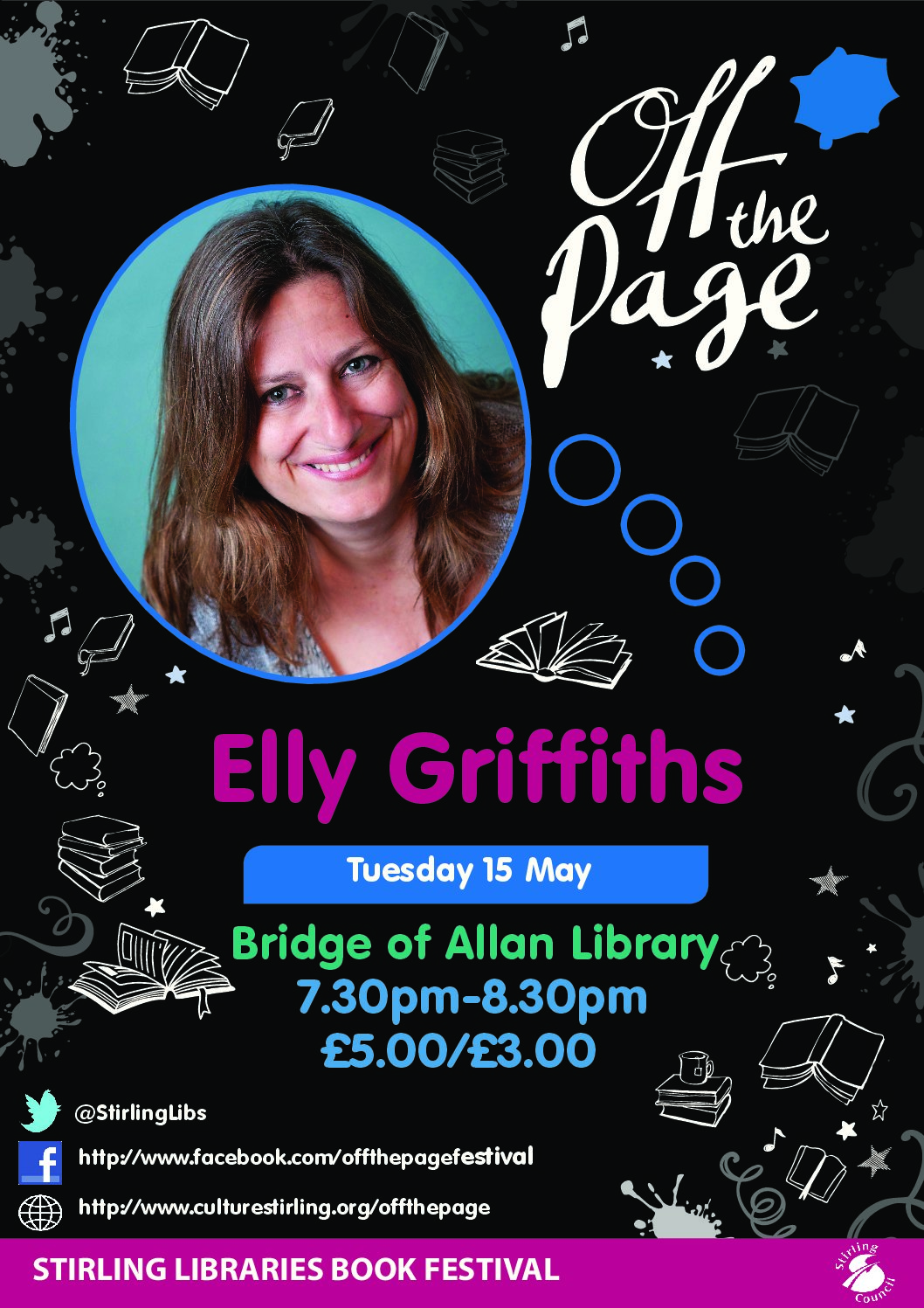"""Off the Page"" Bridge of Allan Library Book Festival"