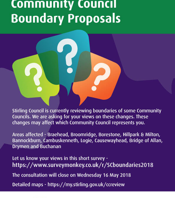 Community Council Boundary Changes