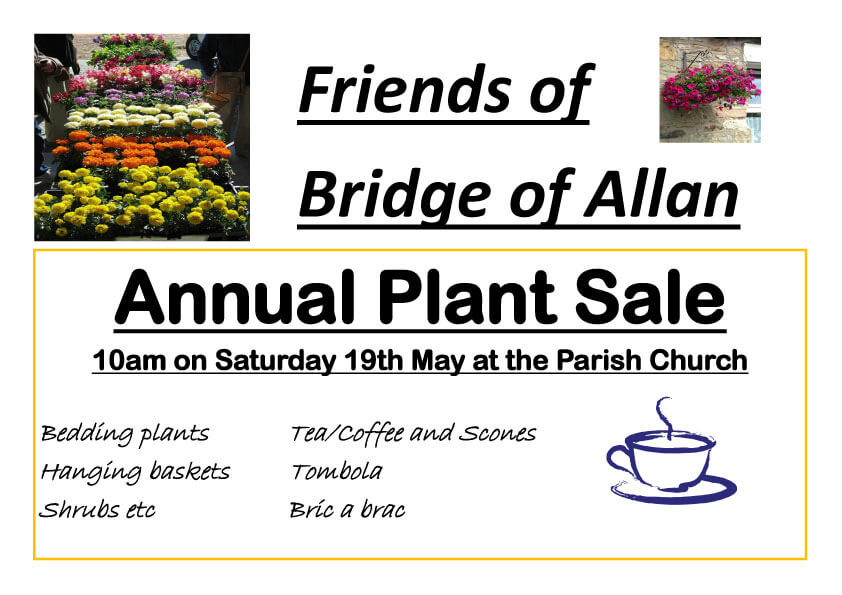 Friends of Bridge of Allan Plant Sale