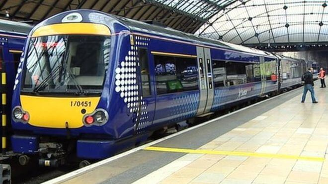 Update from Scotrail received by Cllr Tollemache