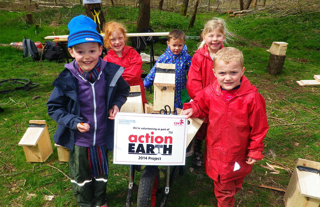 Volunteering Matters Action Earth grants now available!