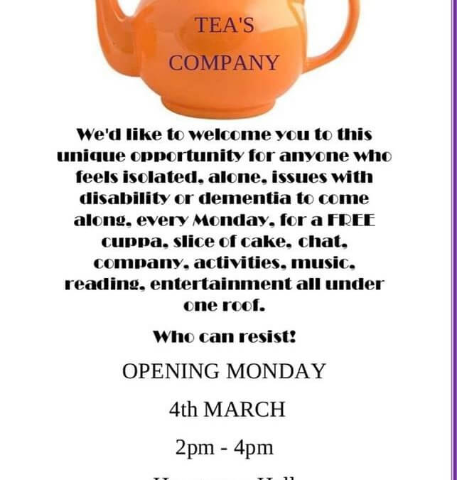 Teas Company – A New Community Cafe Project