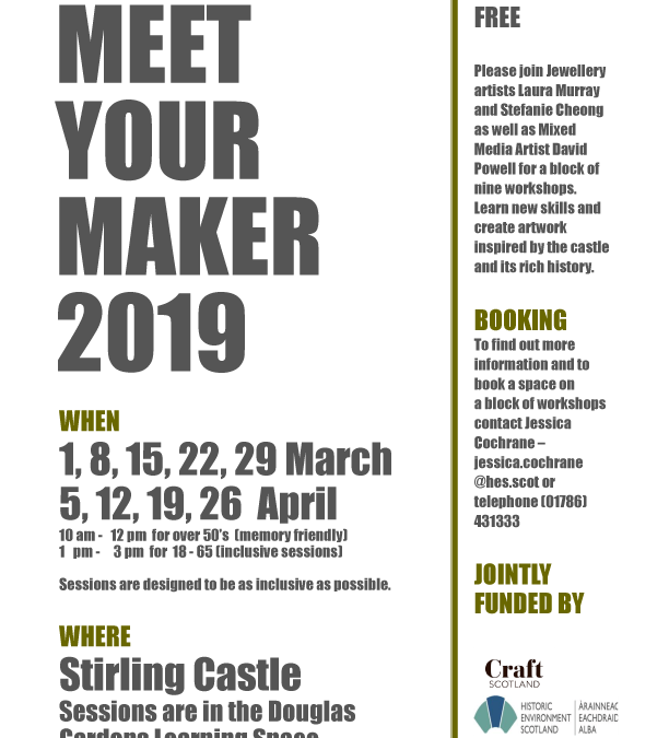 Meet Your Maker Craft Sessions
