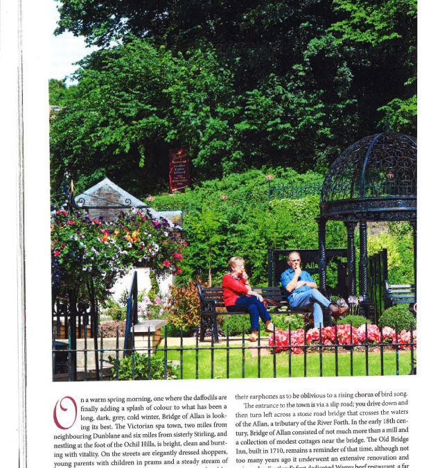 Scottish Life Magazine Article on Bridge of Allan