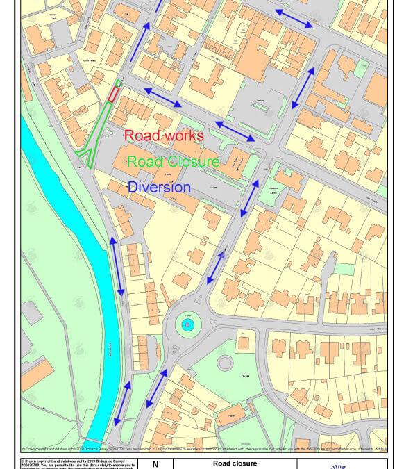 Notice of Temp Road Closure – Union Street