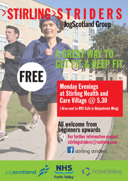 Jogging Group – Monday Evenings