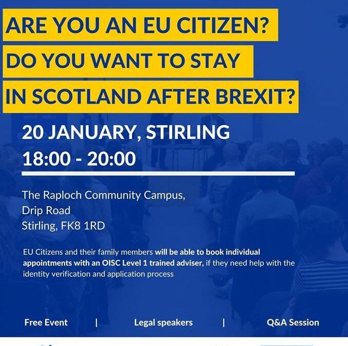 EU Settlement Scheme information session