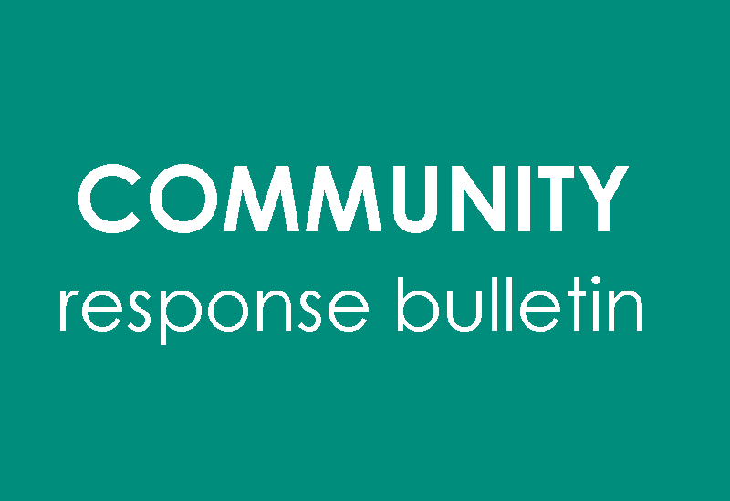 Community Response Bulletin