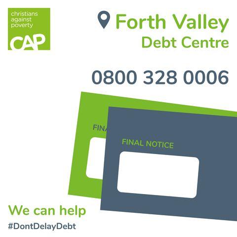 Free Debt Advice service from CAP Scotland